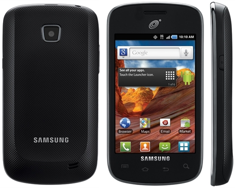 samsung galaxy proclaim which operates on the verizon network the